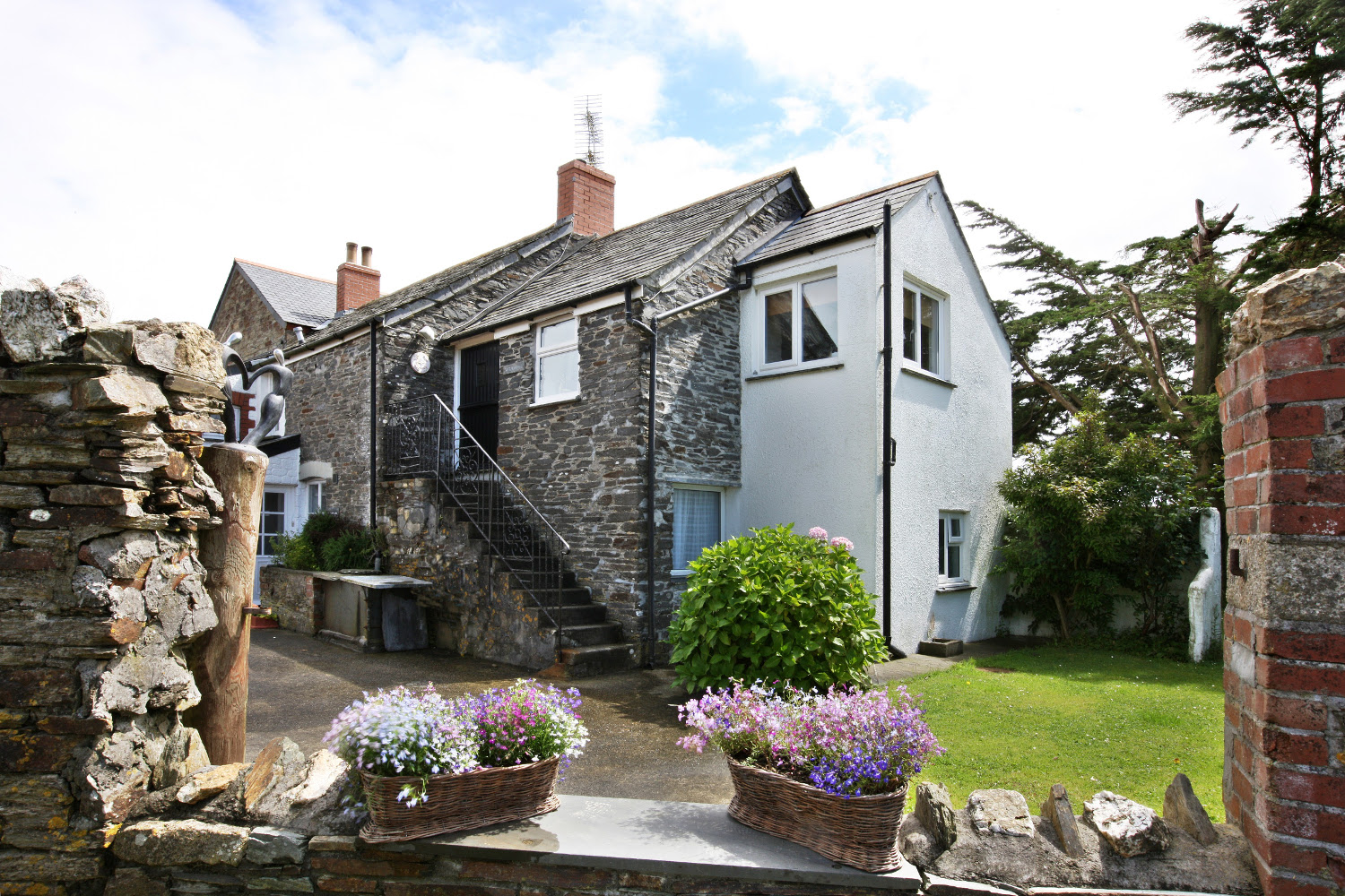 alpha in rental holiday lettings cornwall newquay palm cottage sc cottages