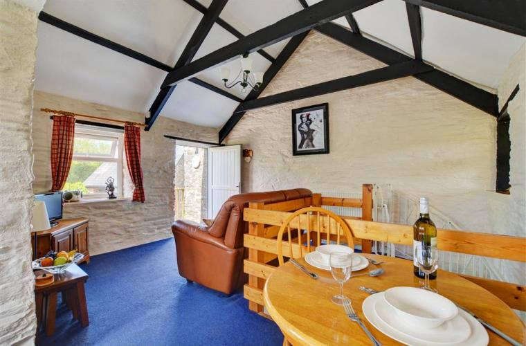 Love cottage living area